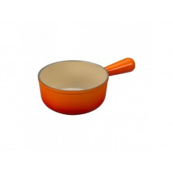 Steelpan 22cm oranjerood