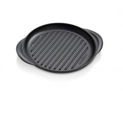 Ronde gril 25cm Mat zwart   Le Creuset
