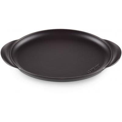 Gietijzeren ovale bakplaat 31cm Mat Zwart  Le Creuset