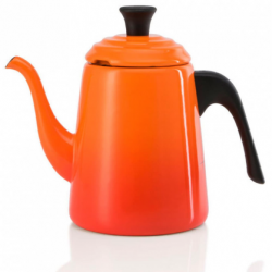 Barista Waterketel 700ml Oranjerood  Le Creuset