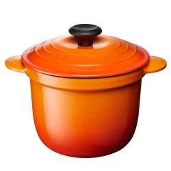 Cocotte Every Oranjerood 18cm  Le Creuset