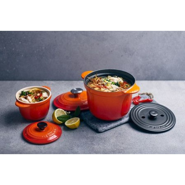 Le Creuset Ovenschotels Mini Cocotte Every 13cm Kersenrood