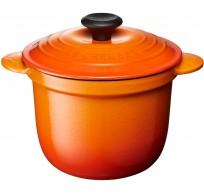 Mini Cocotte Every 13cm Oranjerood