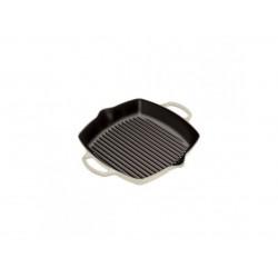 Hoge grillplaat 30cm Crème  Le Creuset