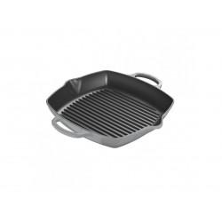 Hoge grillplaat 30 cm Mist Grey  Le Creuset