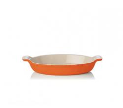 Ovale ovenschaal 36cm Oranjerood Le Creuset