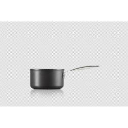 Anti-aanbak steelpan 18cm 2,8l Zwart  Le Creuset