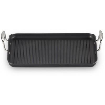 Anti-aanbak xl-grillplaat 34 cm zwart  Le Creuset