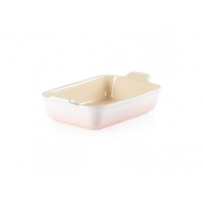 Rechthoekige ovenschaal 19cm Shell Pink Le Creuset