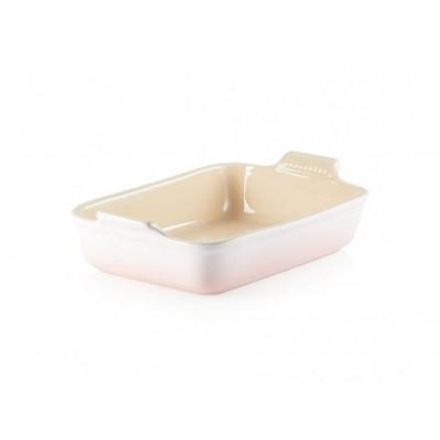Rechthoekige ovenschaal 26cm 2,3l Shell Pink Le Creuset