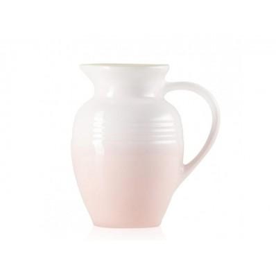 Aardewerken karaf in Shell Pink 1,0l