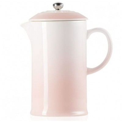 Koffiepot met pers 22cm 0,8l Shell Pink  Le Creuset