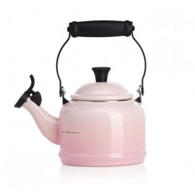 Demi Fluitketel 1,1l Shell Pink  Le Creuset