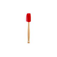 Silicone Premium kleine spatel in Kersenrood
