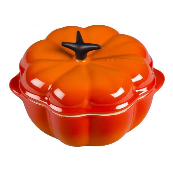 Le Creuset Ovenschotels Pompoen mini-Braad/Stoofpan Oranjerood