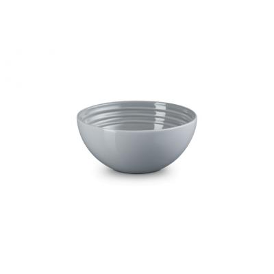 Aardewerken snackschaaltje in Mist Grey 12cm