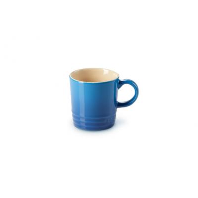 Aardewerken espressokopje in Marseilleblauw 100ml