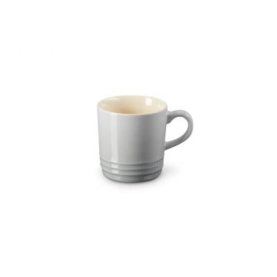 Aardewerken espressokopje in Mist Grey 100ml