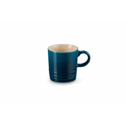 Aardewerken espressokopje in Deep Teal 100ml  Le Creuset