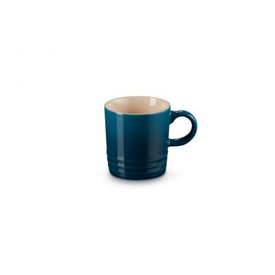Aardewerken espressokopje in Deep Teal 100ml