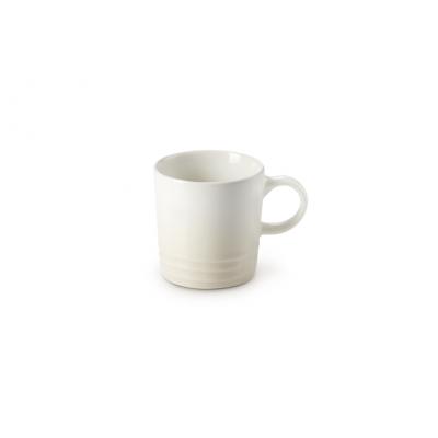 Aardewerken espressokopje in Meringue 100ml