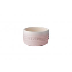 Aardewerken schaaltje stapelbaar in Shell Pink 0,2l  Le Creuset
