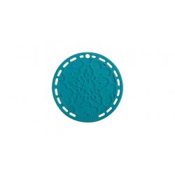 Silicone onderzetter in Caribbean Blue 20cm  Le Creuset