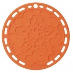 Silicone onderzetter in Oranjerood 20cm  Le Creuset