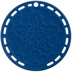 Silicone onderzetter in Marseilleblauw 20cm  Le Creuset
