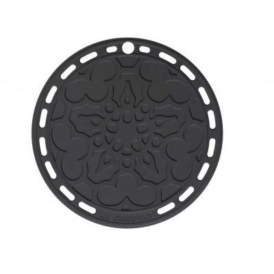 Onderzetter 20cm Zwart Le Creuset