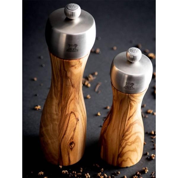 Peugeot Zoutmolens Fidji Zoutmolen 20cm olijfhout