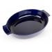 Appolia ovale ovenschaal 40cm blauw Peugeot