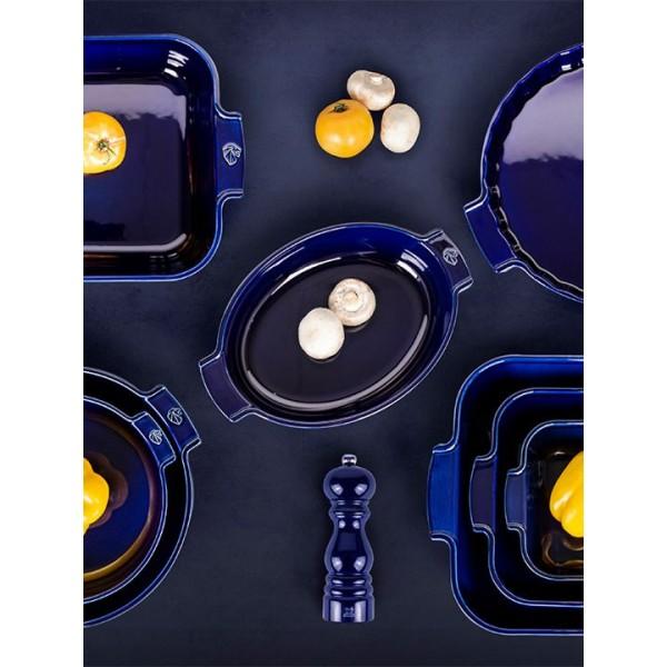 Appolia Ovenschotel ovaal 31cm Blauw Peugeot