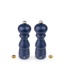 Paris Duo 18cm Marineblauw met sierknopen Peugeot