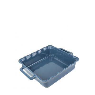 Délices Vierkante ovenschaal oceaanblauw 31cm  Peugeot