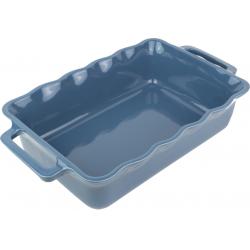 Délices Rechthoekige ovenschaal Oceaanblauw 34cm  Peugeot