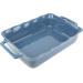 Délices Rechthoekige ovenschaal Oceaanblauw 38cm Peugeot