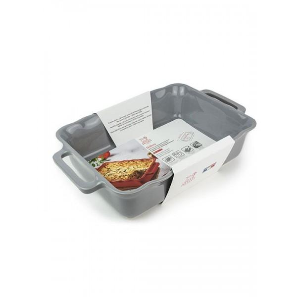 Délices Rechthoekige ovenschaal Zilvergrijs 38cm Peugeot