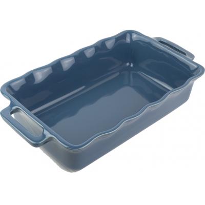 Délices Rechthoekige ovenschaal Oceaanblauw 31cm  Peugeot