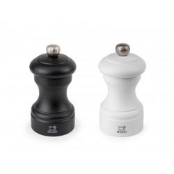 Bistro Peper- en zoutmolen 10cm zwart/wit Peugeot