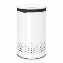 Wasbox 60L Kunststof Deksel Wit