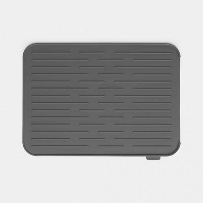 Afdruipmat Silicone 44x32cm Dark Grey   Brabantia