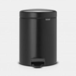 NewIcon Pedaalemmer 5L mat zwart