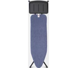 STRIJKPLANK B 124 x 38 cm, voor stoomunit - Denim Blue Brabantia