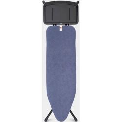 STRIJKPLANK B 124x38cm voor stoomunit Denim Blue