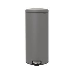 Touch Bin 30L mineral concrete grey