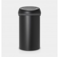 Touch Bin 60L Mineral Moonlight Black