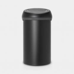 Touch Bin 60L Mineral Moonlight Black  Brabantia