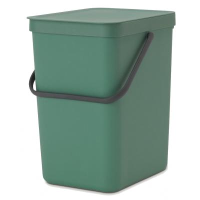 Sort & Go Afvalemmer 25L Fir Green  Brabantia