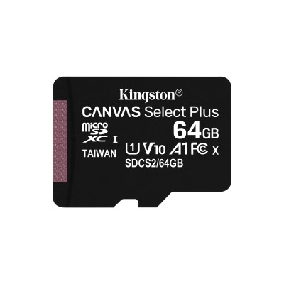 Canvas Select Plus micSDXC 64GB Flashgeheugen Kingston